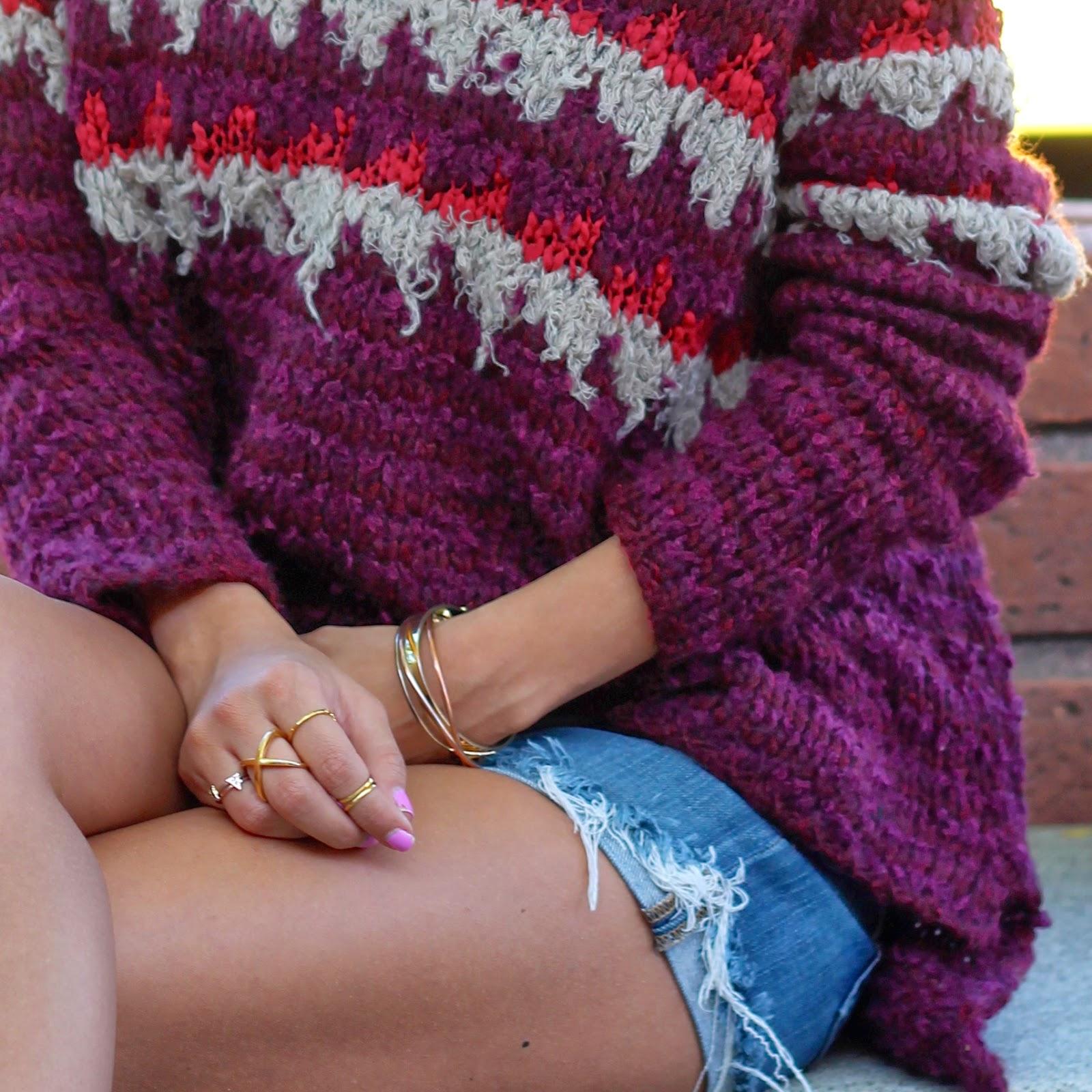 rings sweater
