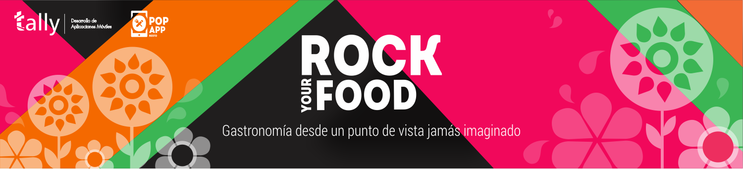 Rock Your Food - PopApp Resto by Tally