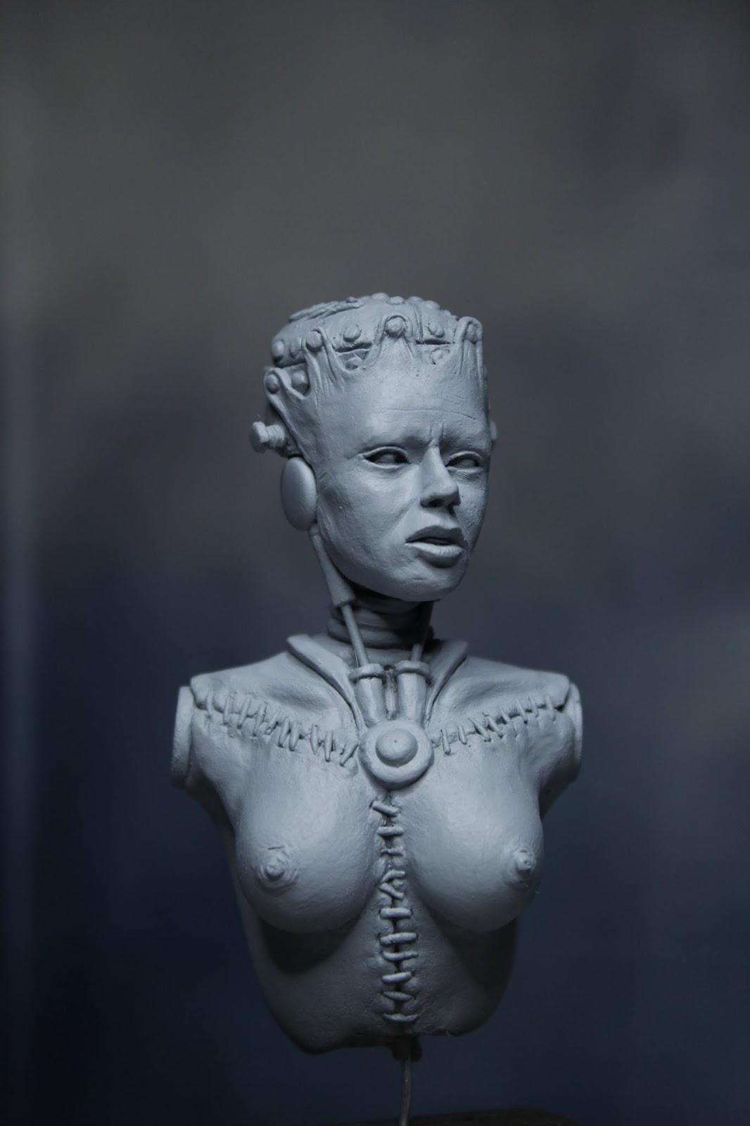 Frankenstein girl steampunk style Frankengirl02