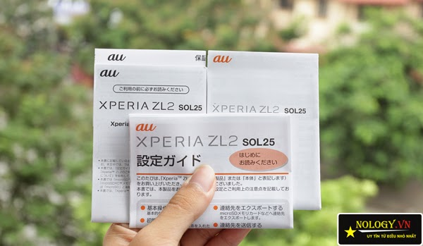 Điện thoại Sony Xperia ZL2 Au Nhật Bản (SOL25)