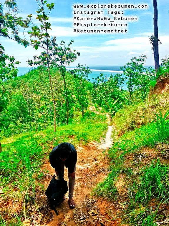 Pantai Karang Agung Jalan Pulang