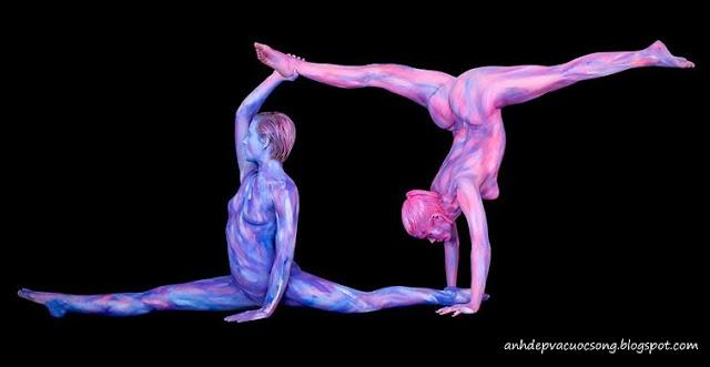 Ảnh nghệ thuật bodypainting