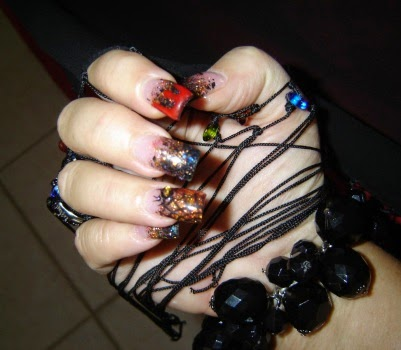 Scary Nail Stickers