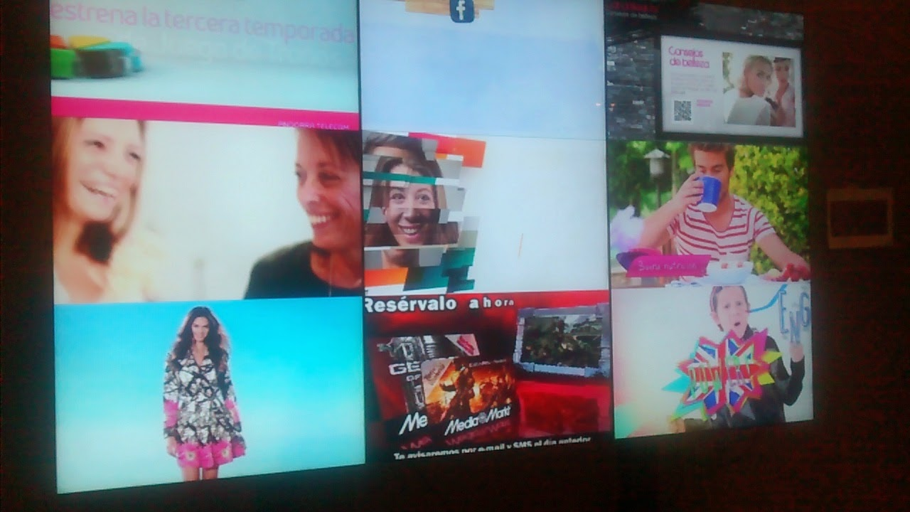 video-wall de Neoadvertising