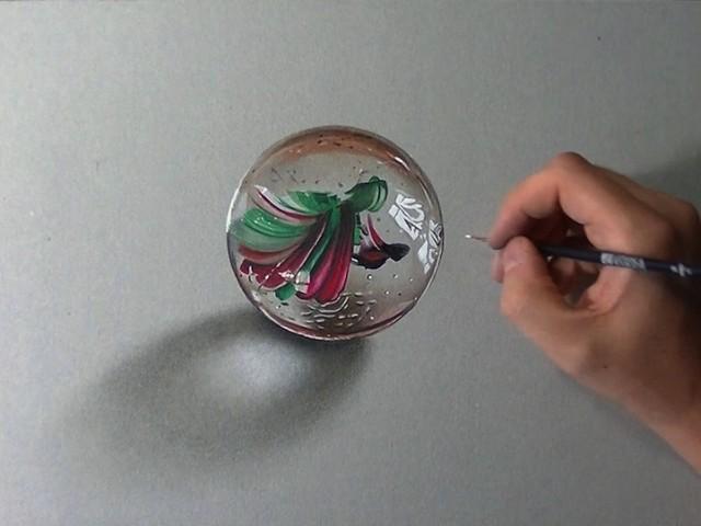 Keren! Gambar Benda 2D Yang Terlihat Nyata Seperti 3D