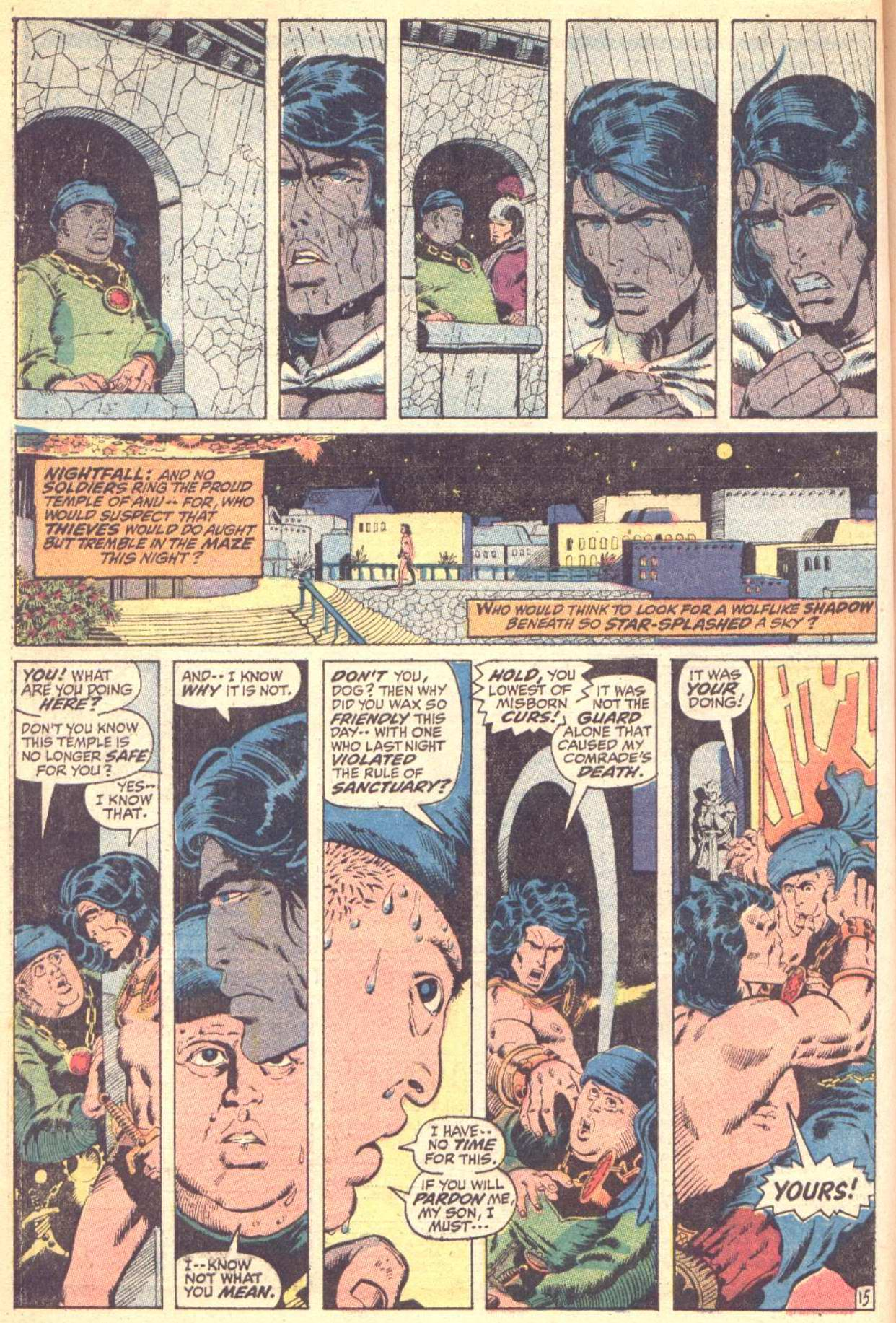 Conan the Barbarian (1970) Issue #10 #22 - English 16