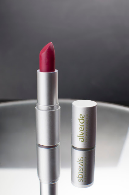 Alverde Color & Care Lippenstift 63 Fuchsia