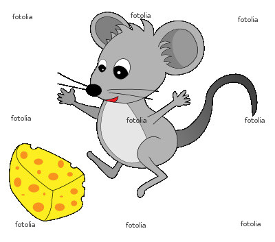 Cartoon mouse clip art