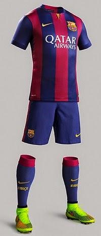 La nueva camiseta del FC Barcelona 2014-15 939069e85e8e5