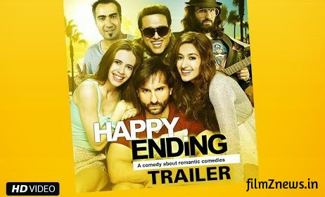 Happy Ending (2014) Official Trailer - Saif Ali Khan, Ileana D'Cruz, Govinda & Kalki