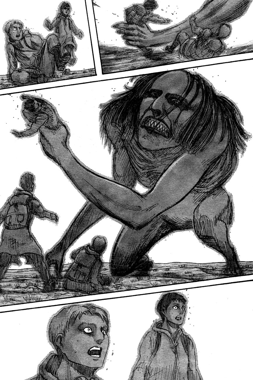 Attack on Titan chap 39 Trang 21
