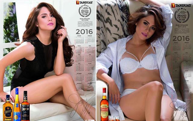Jessy Mendiola Tanduay 2016 Calendar Girl
