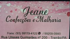 Jeane confecções e crediário