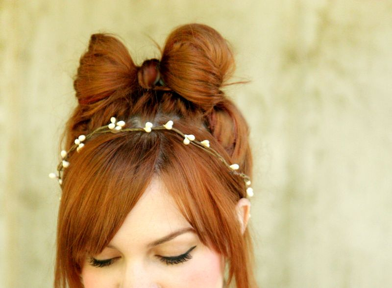 How To: The Hair Bow Hairstyle