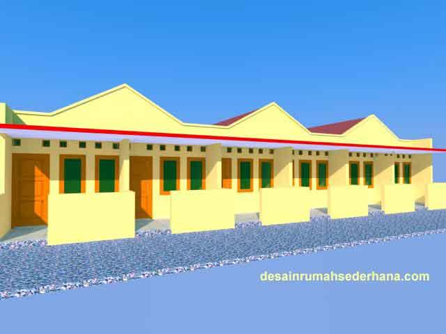 Desain Rumah Petak Sederhana