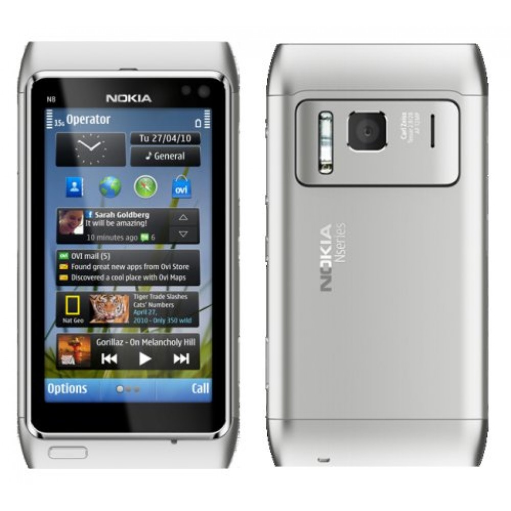 The Best Mobiles The Best Price Nokia N8 00 White
