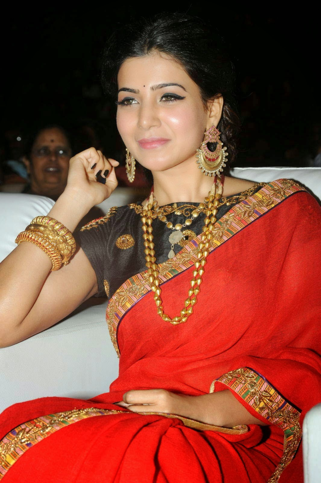 Samantha hot photos at S/o Satyamurthy Movie Audio Launch