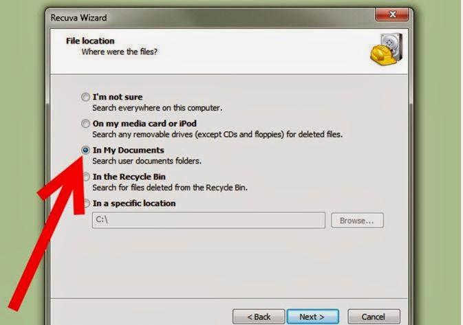 Cara Mengembalikan Dokumen atau File Yang Terhapus