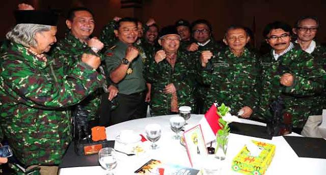 Eratkan Persatuan, Kasad Gelar Silaturahmi Dengan Para Tokoh Nasional