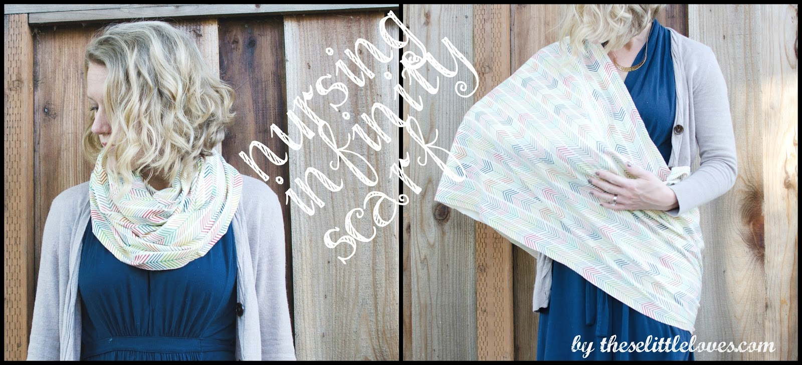 these little loves: Free Pattern: Nursing Infinity Scarf DIY