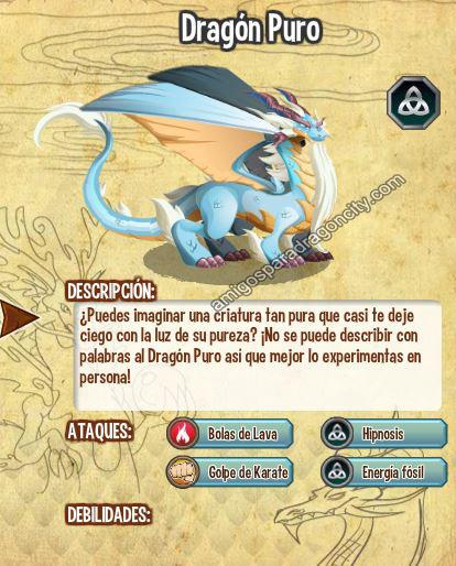imagen de del nuevo dragon puro de dragon city