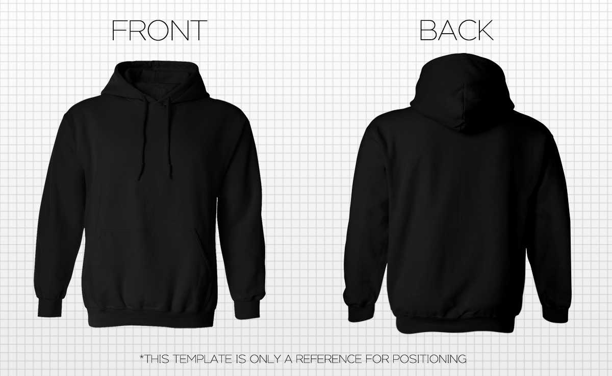 Download image Black Hoodie Template Front And Back PC Android N3M66kTG