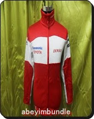 PANASONIC TOYOTA  JACKET TRAINER