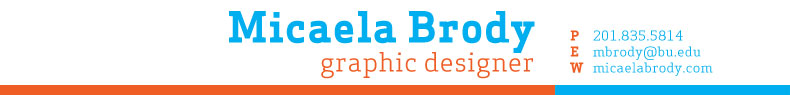 Micaela Brody's Online Portfolio