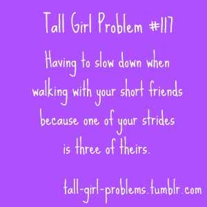 short girl problems dating