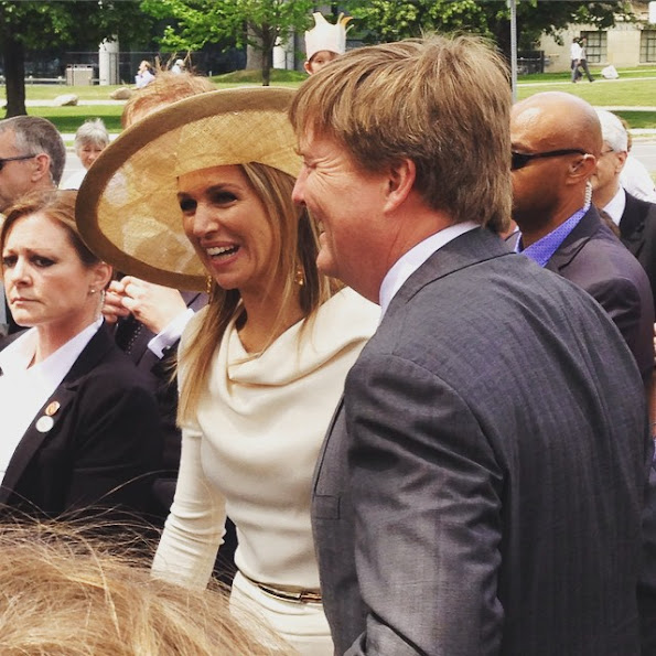 King Willem-Alexander and Queen Maxima of The Netherlands visited the Legislative Assembly of Ontario