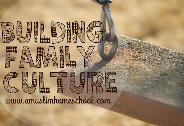 building family culture, helping family memories grow