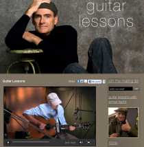 Clases de guitarra James Taylor enseña online cursos de guitarra James Taylor