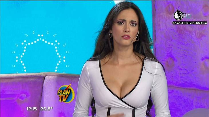 Argentina Celebrities Fatima Florez and Gabriela Sobrado big tits cleavage HD video 720p