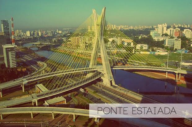 Ponte Estaiada, São Paulo, Brasil