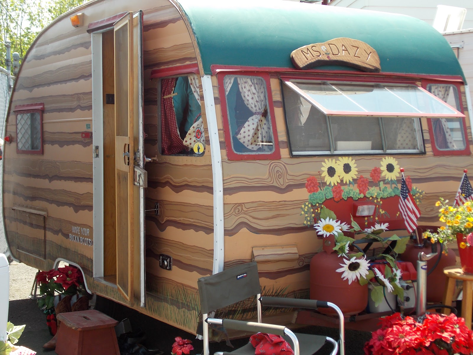 Vintage travel trailers naked girls consider, that