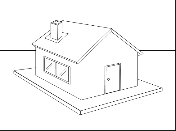 How to draw impressive pictures in ms word how to draw a for House drawing picture
