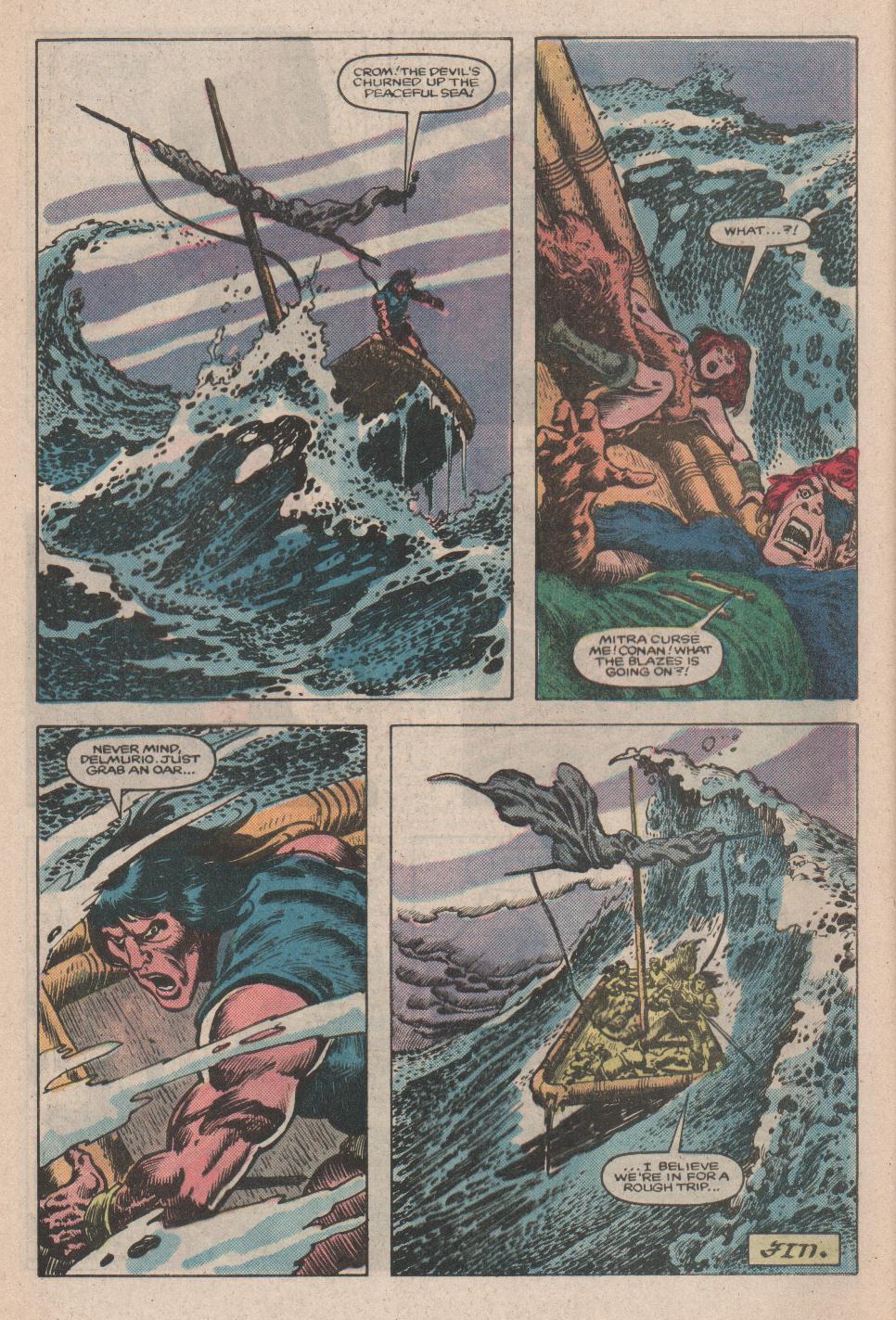 Conan the Barbarian (1970) Issue #175 #187 - English 23