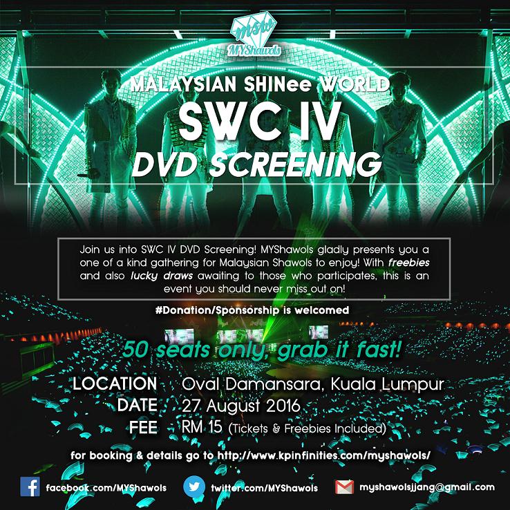 [EVENT] SHINee World Concert IV DVD Screening