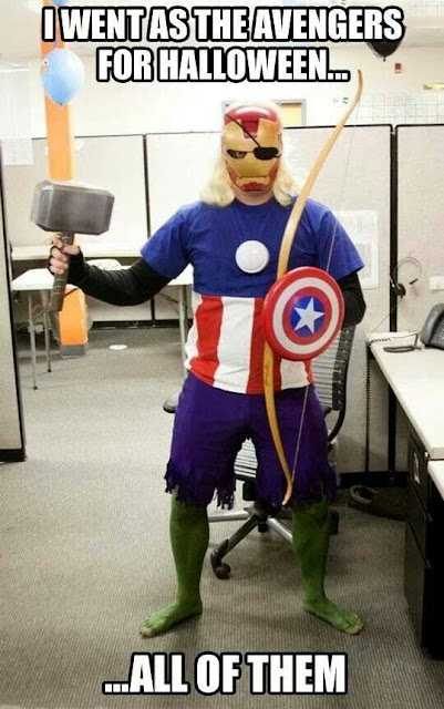All In One Avengers Costume