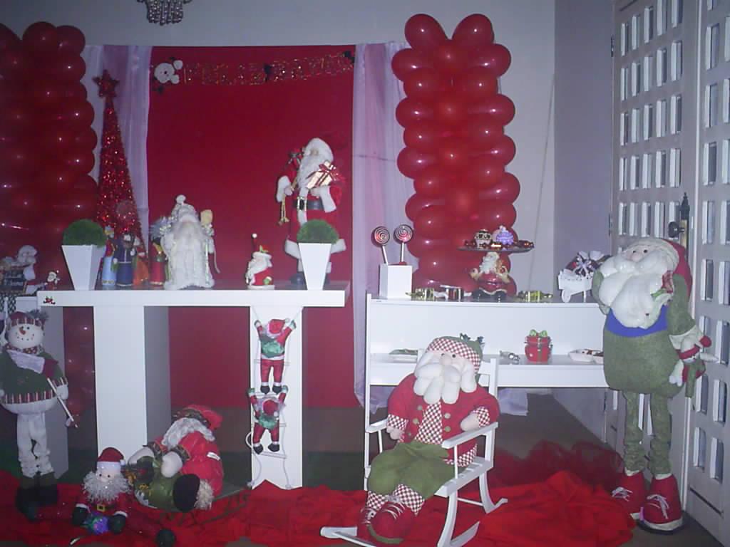decoracao festa natal:Pink Festas 01: Decoração Natal – Provençal