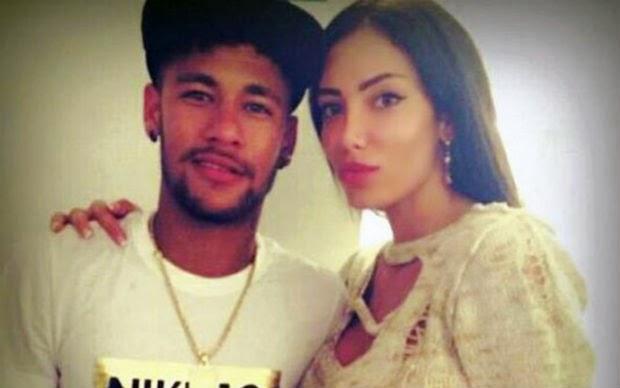 Neymar e Soraja Vucelic