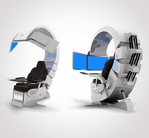 Hi Tech Desk high tech office desks of the future | officefurnituredeals