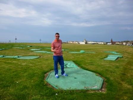 Crazy Golf in Ardrossan
