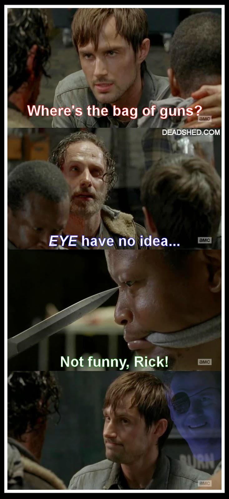 Walking Dead Memes Rick And Daryl Walking Dead 5x01 Memes