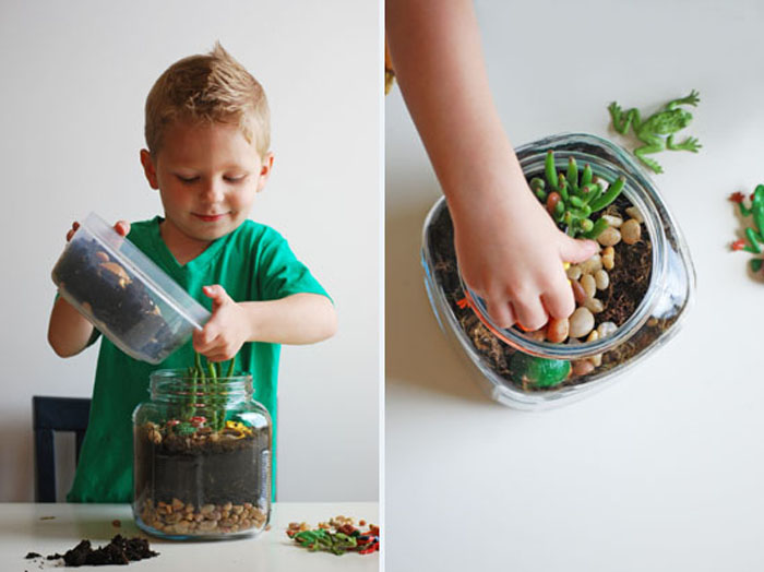 terrarium project for kids