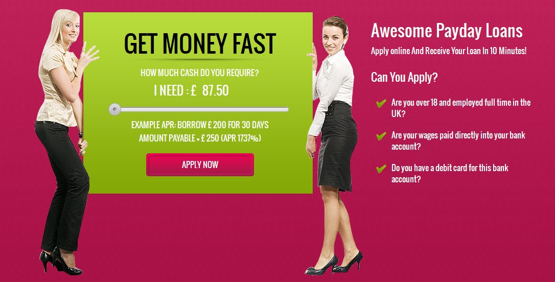 Payday Loans | Get Cash Advance Online @ My-paydayloans.co.uk