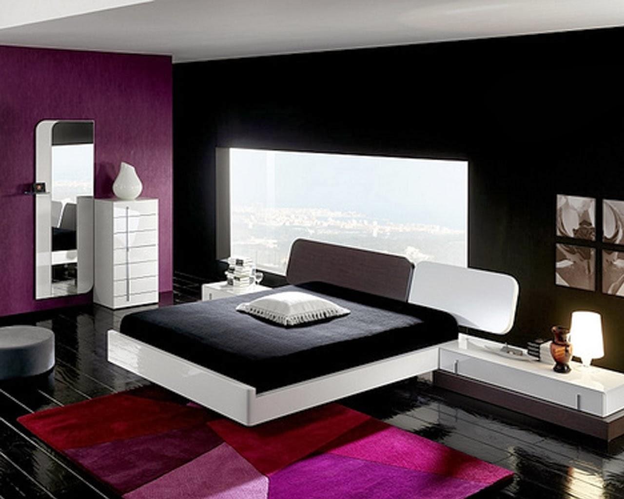 Deco noir et blanc chambre – lombards