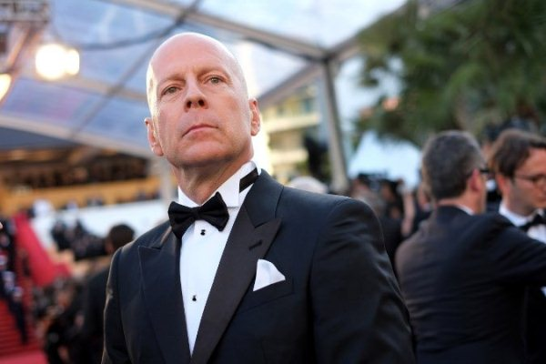 Bruce Willis cannes 2012