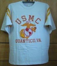 Vintage USMC Raglan Shirt
