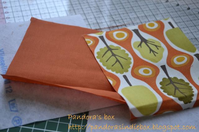 Handmade coin tutorial - fabrics